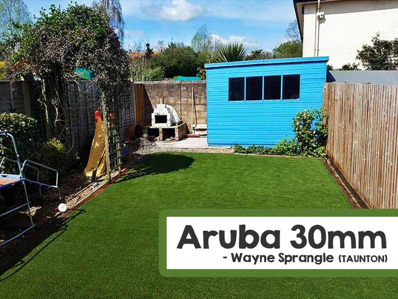Customer Installed Aruba Artificial Grass