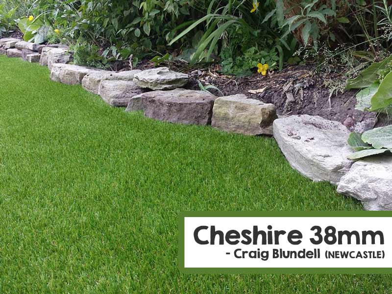 Customer Installed Cheshire Artificial Grass