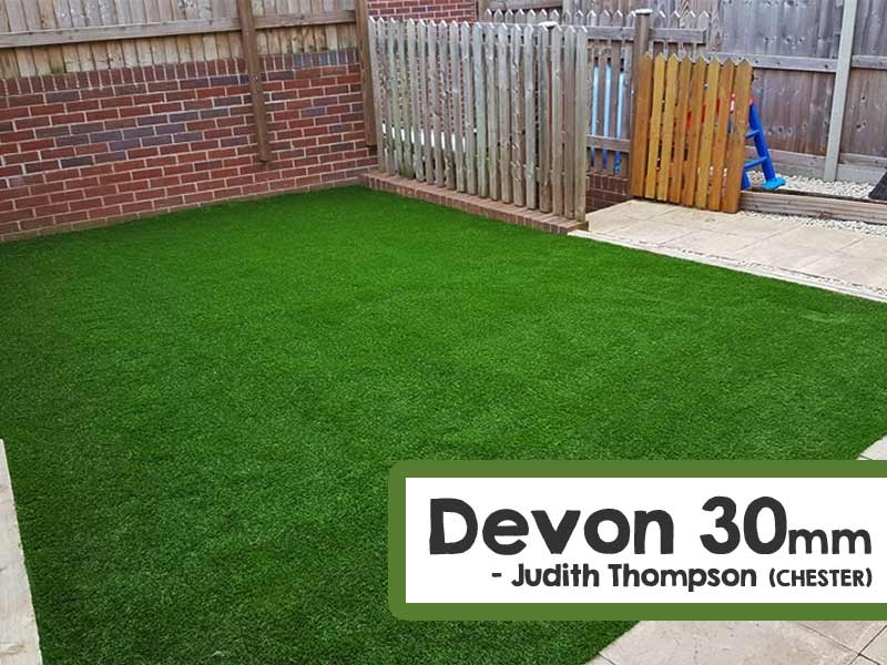 Customer Installed Devon Artificial Grass