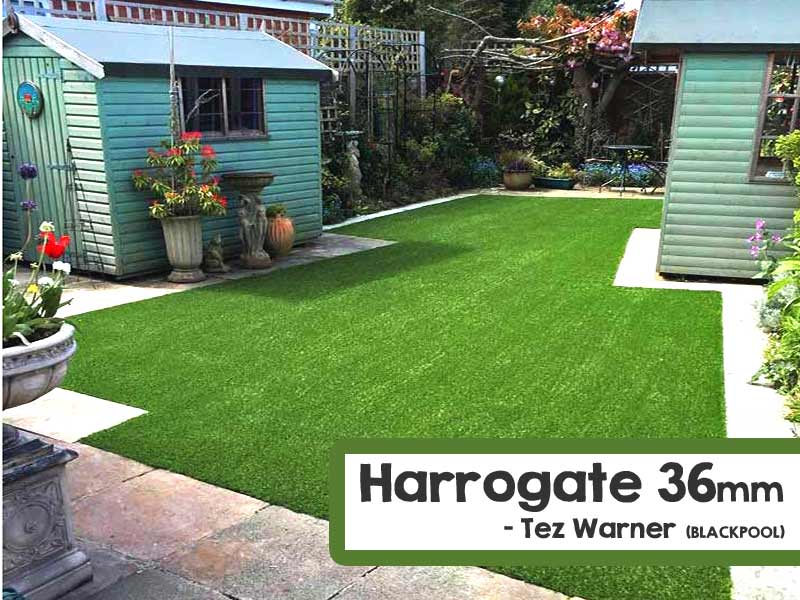 Customer Installed Harrogate Artificial Grass