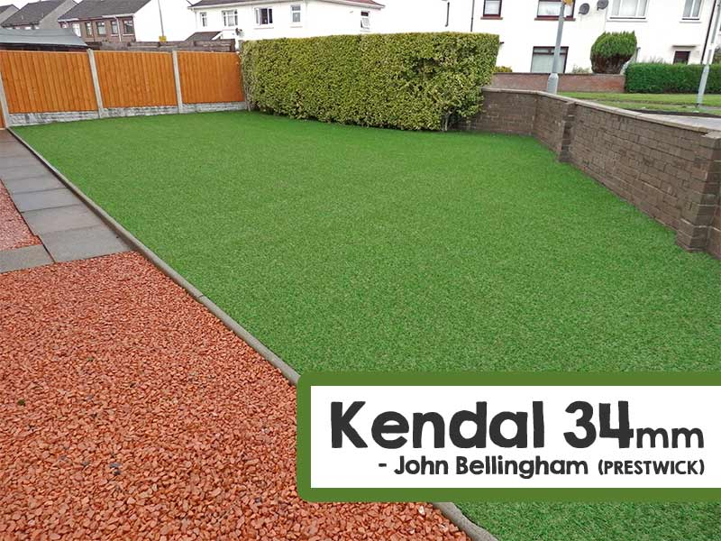 Customer Installed Kendal Artificial Grass