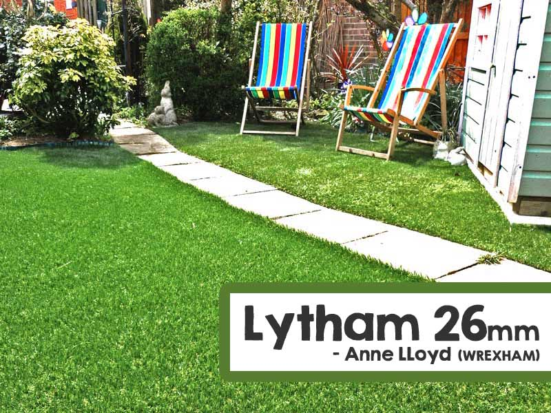 Customer Installed Lytham Artificial Grass