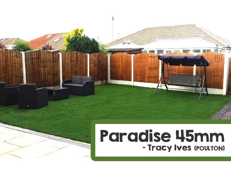 Customer Installed Paradise Artificial Grass