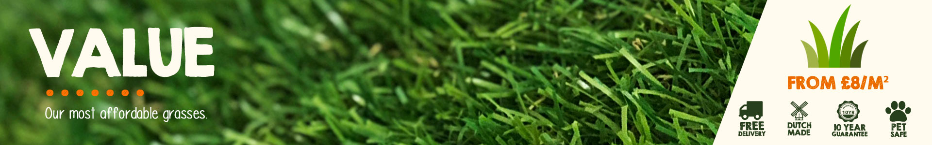 value artificial grass
