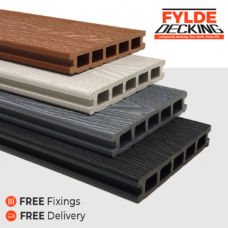 3.6m composite decking boards
