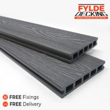 3.6m grey composite decking