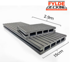 2.9, Composite Decking Stone Grey