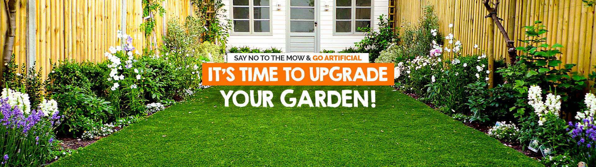Time to upgrade your garden banner image homepage