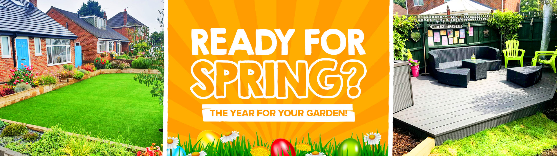 ready for spring (easter edition) march 2021 banner